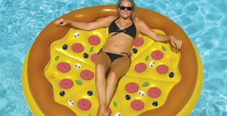 Pizza Island Pool Floatie