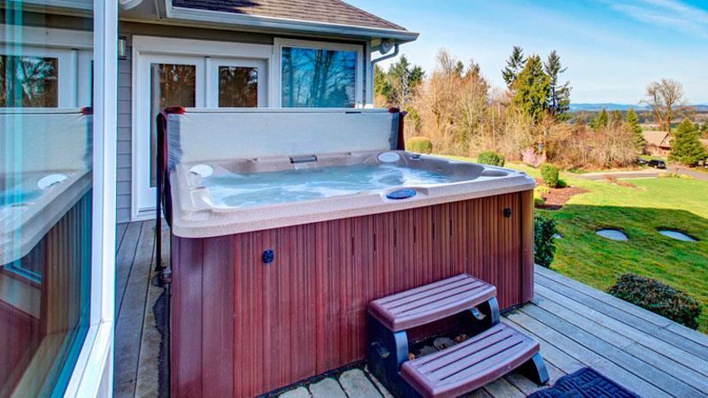 Hot Tub Energy Saving