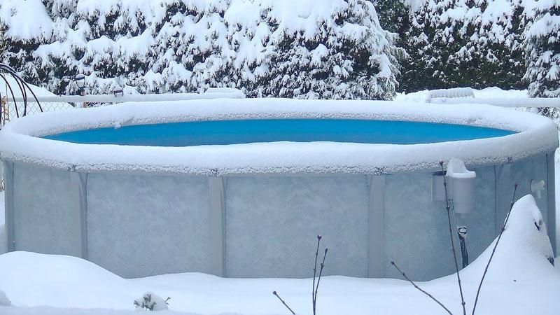 Aboveground Pool for Christmas
