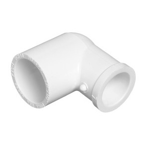 2 inch Slip x 1.5 inch Slip Reducing PVC Pipe Elbow