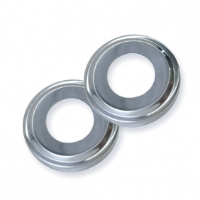 Stainless Steel Escutcheons- 2 Pack