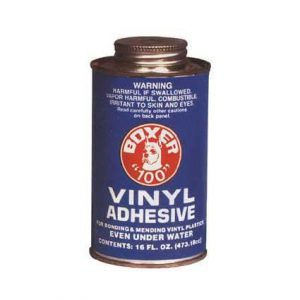 #100 Vinyl Adhesive, 16oz Can Only With Applicator Cap