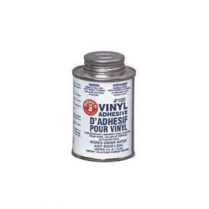 #100 Vinyl Adhesive, 4oz Can Only With Applicator Cap