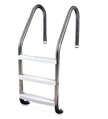 3 Step Steel Ladder with Plastic Steps