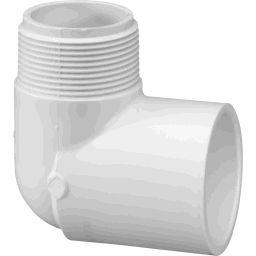 2 inch 90 Degree Elbow MIPT / Socket
