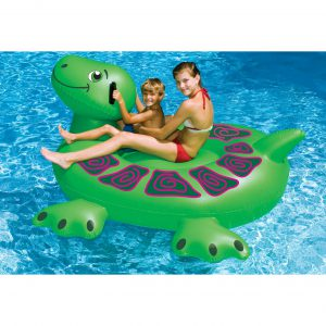 Swimline Turtle Ride-On Pool Float