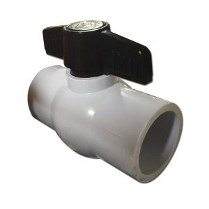 1.5 inch PVC Ball Valve with Female Sockets
