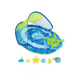 Swimways Baby Spring Float Activity Center with Sun Canopy