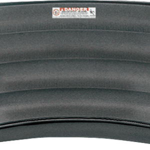 Performance Step 8 ft 4 Tread French Curved Cantilever - Solid Grey