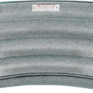 Performance Step 8 ft 4 Tread French Curved Cantilever - Grey Granite