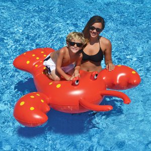 Swimline Rock Lobster Ride-On Pool Float