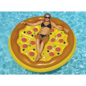 Swimline Personal Pizza Island Pool Float