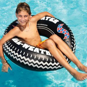 Swimline Printed Tire Tube