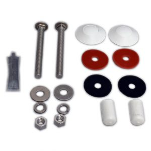 Inter-Fab Complete Duro-Beam and Techni-Beam Board Hardware Kit (Stainless Steel)