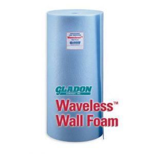 Gladon Waveless Wall Foam 60 Foot Roll
