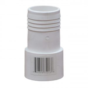 PVC Adaptor 1.5 inch Socket Male Spig Insert x 1.5 inch Barbed