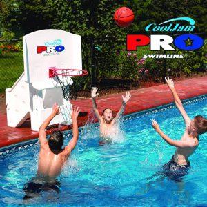 Swimline CoolJam Pro Poolside Basketball
