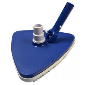 Blue Triangular Vacuum Head
