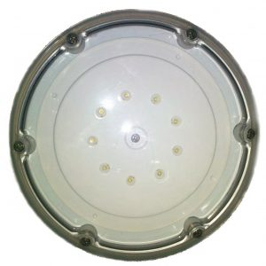 Aqualamp Two White LED Inground Pool In Wall Low Voltage Light System