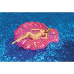 Swimline Seashell Island Deluxe Floating Pool Lounger