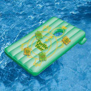 Swimline Turtle Toss 36 Inch Inflatable Cornhole