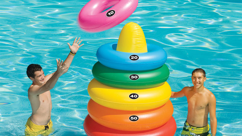 2020 Pool Toys Giant Ring Toss