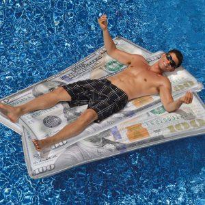 Ben Franklin $100 Bill Pool Float