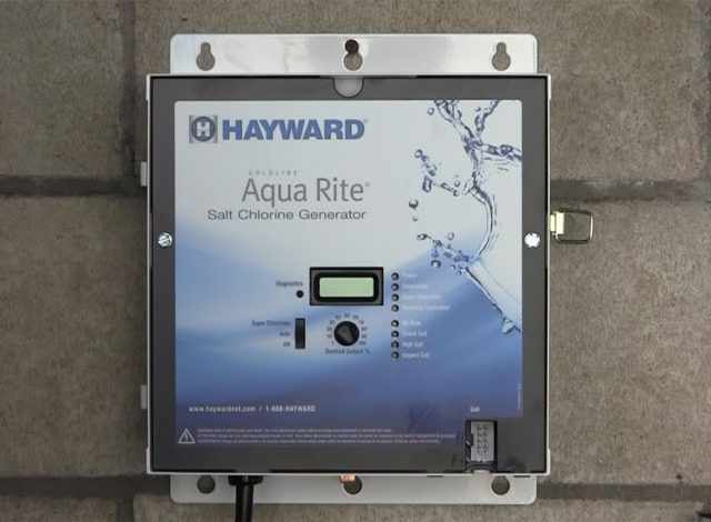 hayward aquarite salt generator