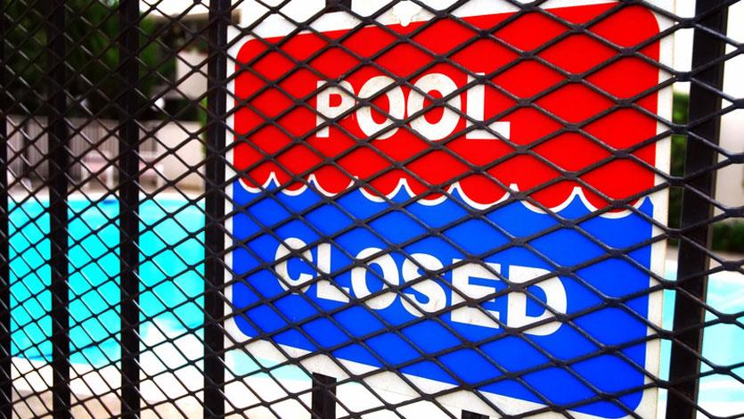 Pool Closed for Season
