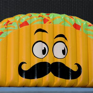 Giant Taco Pool Floatie