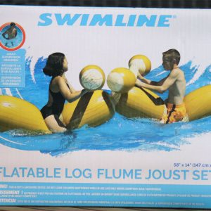Log Joust Inflatable Pool Game
