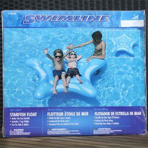 starfish pool float for kids