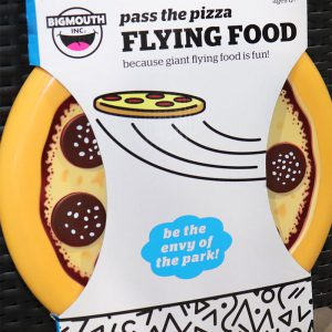 Flying Pizza Frisbee